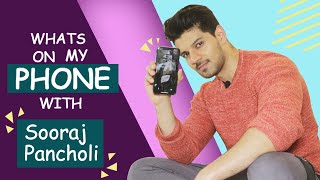 Weird Phone Secrets With Sooraj Pancholi | First Phone, Last Googled, Last Message And More...