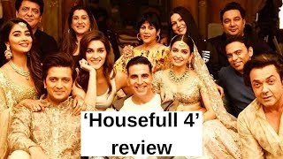 'Housefull 4' review: Moviegoers give thumbs up to film