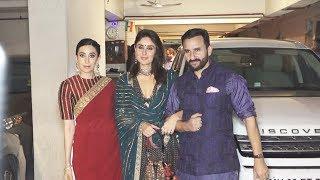 Kareena Kapoor And Saif Ali Khan's Grand Diwali Party 2019 | Malaika Arora, Karisma Kapoor