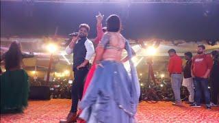 khesari वाला डांस - खेसारी लाल का जबरजस्त स्टेज - दिवाली सुपरहिट शो Khesari Lal Show 2019