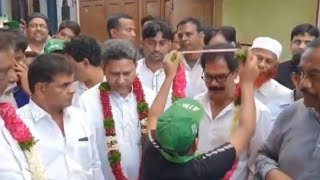 Karwan MLA Kausar Mohiuddin | felicitated by people of Karwan | On View Of Development - DT News
