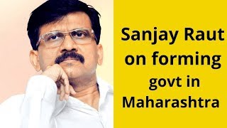 'There's no Dushyant here whose father is in jail': Sanjay Raut on forming govt in Maharashtra