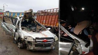 Madhya Pradesh Indore Accident News // दो कारों की भीषण टक्कर, 6 लोगों की मौत, 6 अन्य घायल
