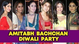 Bollywood Hotties At Amitabh Bachchan's Diwali Party 2019