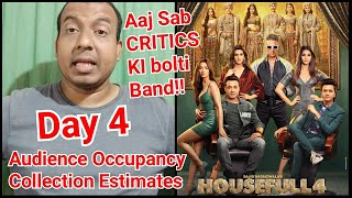 Housefull 4 Audience Occupancy And Collection Estimates Day 4