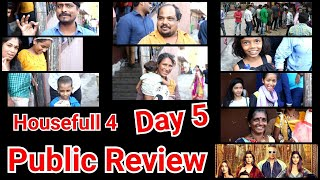 Housefull 4 Public Review 1st Show Day 5 In Mumbai's Gaiety Galaxy Theatre