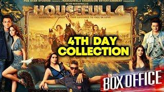 HOUSEFULL 4 | 4th Day Collection | Box Office | Akshay Kumar, Riteish, Bobby