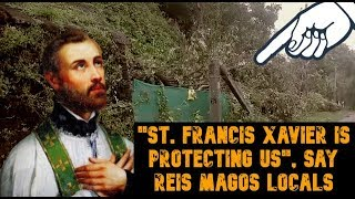 """""""St. Francis Xavier Is Protecting Us"""" Say Reig Magos Locals Affected By Disaster"""