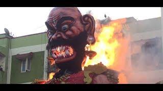 Diwali celebration begins in Goa with burning of Narakasura effigies