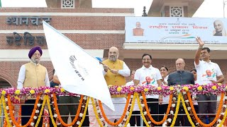 'Article 370 was gateway of terrorism in India': Amit Shah flags off 'Run for Unity'