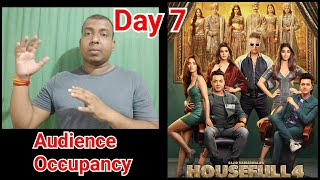 Housefull 4 Movie Audience Occupancy Day 7 In Morning Shows
