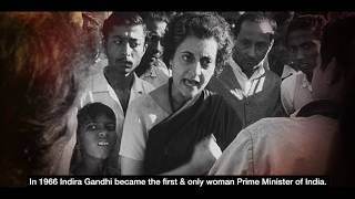 Indira Gandhi | Iron Lady Of India