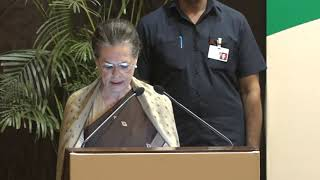 Smt. Sonia Gandhi's speech at Indira Gandhi Award for National Integration