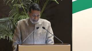 Chandi Prasad Bhatt speech at Indira Gandhi Award for National Integration