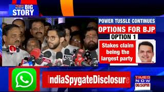 Uddhav will take final call on govt formation: Aditya Thackeray