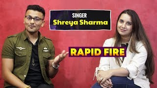 Rapid Fire With Shreya Sharma   Prada (Duro Duro) Singer   Alia Bhatt