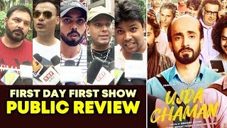 Ujda Chaman PUBLIC REVIEW | First Day First Show | Sunny Singh, Maanvi Gagroo
