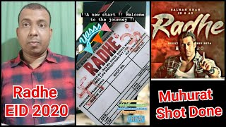 Radhe Your Most Wanted Bhai Movie Muhurat Shot Done Today In Mumbai, Set To Clash With Laxmmi Bomb
