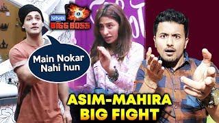 Asim BIG FIGHT With Mahira Over Washroom | Bigg Boss 13 Latest Update