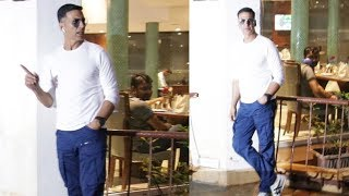 Akshay Kumar Spotted For Success Meet Of Film Housefull 4 At Sun And Sand Juhu