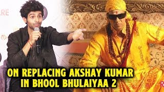 Kartik Aaryan Speaks On Replacing Akshay Kumar In Bhool Bhulaiyaa 2