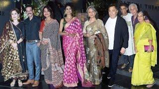 Prithvi Festival Opening Ceremony | Rishi Kapoor, Sharmila Tagore, Makarand Deshpande