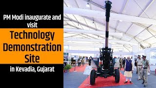 PM Modi inaugurate and visit Technology Demonstration Site in Kevadia, Gujarat | PMO