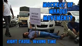 Mhadei Movement Restricts Vehicular Movement; Right Cause, Wrong Time