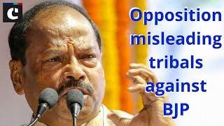 Opposition misleading tribals against BJP: Jharkhand CM Das