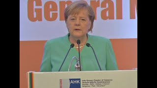 Situation in Kashmir unsustainable, not good: Angela Merkel to German Media
