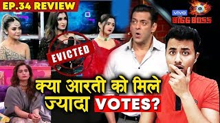 Rashmi, Devoleena EVICTED or NOT?   Did Aarti Get More Votes?   Bigg Boss 13 Ep. 34 Review