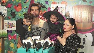 Jay Bhanushali And Mahhi Vij At Karanvir & Teejay's Twins Bella-Vienna's Birthday Bash