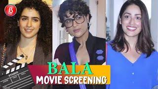 Bala Special Sceening | Tahira Kashyap, Yami Gautam, Dinesh Vijan, Sanya Malhotra Attend