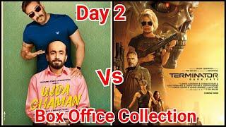 Ujda Chaman VS TERMINATOR DARK FATE Box Office Collection Till Day 2 In Trade