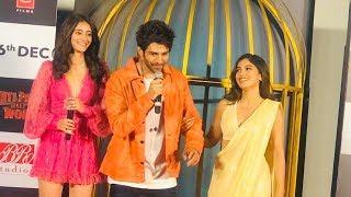 Pati Patni Aur Woh Trailer Launch | Kartik Aaryan, Bhumi Pednekar, Ananya Pandey