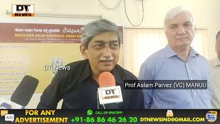 Maulana Azad National Urdu University (MANUU) took a huge leap in transparency and production | DT