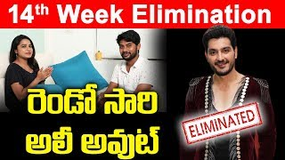 Bigg Boss 3 Telugu 14th Week Elimination | Ali Reza | Siva Jyothi | Rahul | Srimukhi | Top Telugu TV