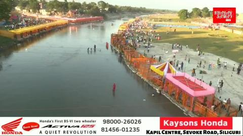Today's visual of Chhath Puja from different Ghats