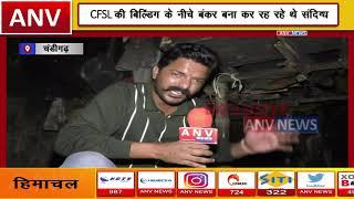 चंडीगढ़ में CFSL बिल्डिंग के नीचे मिला बंकर || ANV NEWS CHANDIGARH