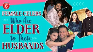 Bollywood Beauties Who're Mighty Elder To Their Husbands