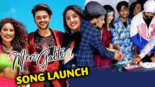 Meri Galti Song Launch | Hasnain Khan BIRTHDAY Celebration | Ashnoor Kaur