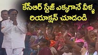 KCR Dynamic Entry @ TRS Huzurnagar Public Meeting | Telangana News | Top Telugu TV