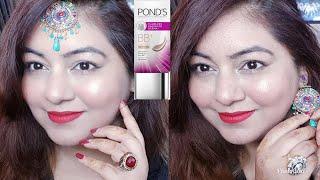 Diwali Glass Skin Makeup with Ponds BB Cream | Glossy Makeup Tutorial | JSuper Kaur