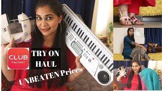 Club Factory Haul | Unbeaten Prices | Lowest Price in India