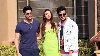 Marjaavaan Star Cast Spotted Promoting Their Film At Juhu | Siddharth, Rakul Preet, Riteish