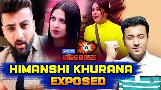 Shehnaz Gill's Brother Exposed HImanshi Khurana's Lie | Bigg Boss 13 Latest Update