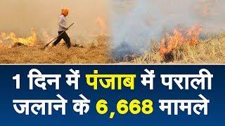 एक दिन में बढ़े पराली जलाने के मामले,23 सितंबर से आज तक का आंकड़ा 37,935 तक पहुंचा