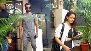 Shahid Kapoor And Wife Mira Kapoor Together Spotted Antigravity Gym At Pali Hill Bandra