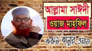 Allama Delwar Hossain Saidi Bangla Waz Mahfil | করুন কান্নার ওয়াজ । Saidi Best Bangla Waz mahfil
