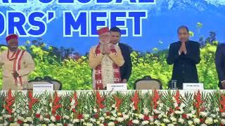 PM Shri Narendra Modi attends Global Investors' Meet 2019 in Dharamshala, Himachal Pradesh